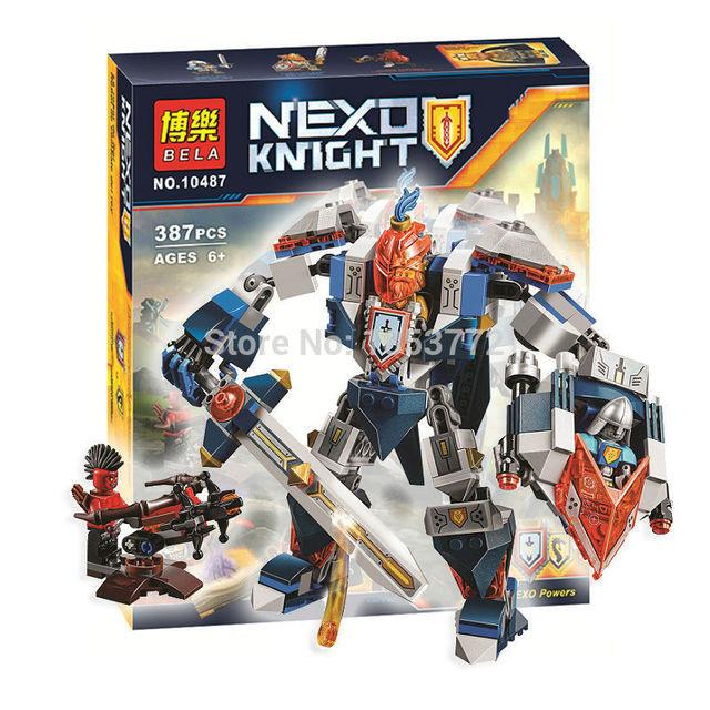 Конструктор лего нексо Bela 10487 Nexo Knights (аналог Лего 70327) 387 дет Королевский Мех