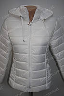 Стильная   женская куртка  осень/весна белая