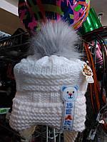 Нарядная шапочка на флисе