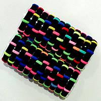 Резинка микрофибра черная с цветными полосками. В упаковке 24шт. Цена 1шт - 1.70грн.