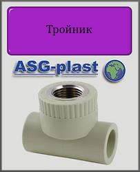 """Тройник 20х1/2"""" РВ ASG-plast полипропилен"""