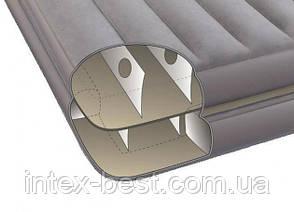 Двуспальная надувная кровать Intex 67744 2-IN-1 AirBed (152 х 203 х 46 см) без насоса, фото 3