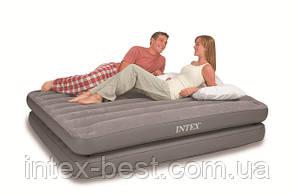 Двуспальная надувная кровать Intex 67744 2-IN-1 AirBed (152 х 203 х 46 см) без насоса, фото 2