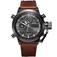 Мужские военные наручные часы Амст / AMST модель - 3003 Оригинал