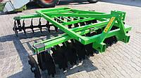 Борона дисковая навесная Bomet 2,10 м (3 стойки) (Украина-Италия)          , фото 1
