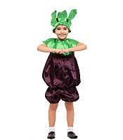 Карнавальный костюм бурячок детский