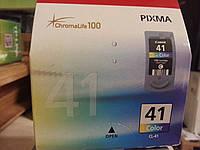 Колір Струменевий картридж Canon CL-41 для MP180, MP190, MP210, MP220, MP450, MP460,iP1600, iP1700, iP1800, iP