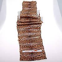 Кожа питон леопард 2,1m
