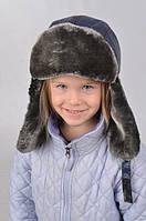 Качественная детская зимняя шапка для мальчика