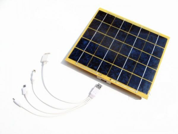 Зарядное USB устройство на солнечной батарее 5Вт