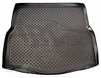 Unidec Коврик в багажник Renault Laguna 2007-2010 hatchback резино-пластиковый