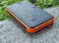 Power Bank Solar 30000mAh портативный аккумулятор с подзарядкой от солнца
