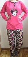 Пижама с мультяшкой на флисе  AF0005