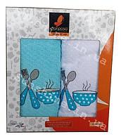 Набор махровых кухонных полотенец 2 шт. 45х70 Mariposa Кухня, фото 1
