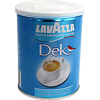 Кофе молотый Lavazza Dek без кофеина, ж/б 250грамм