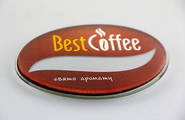 Корпоративные бейджи Best Coffe