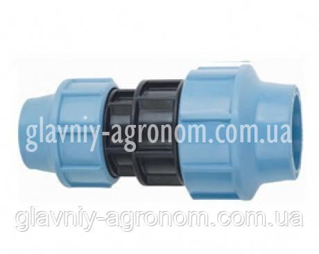 Муфта (фітінг) редукційна для з'єднання поліетиленових труб діаметром 110х75 мм