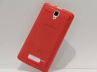 Чехол для смартфона Lenovo A2010 красный матовый