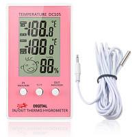 Гигрометр с термометром и индикатором комфорта  DC 105