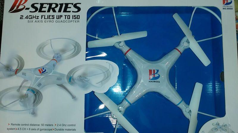 Квадрокоптер HAOBOSS без камеры дрон 6 axis gyro