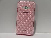 Чехол для смартфона Samsung Galaxy J120H J1 2016 Рыба розовый