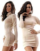 Молодежное платье   туника, зимнее
