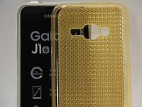 Чехол для смартфона Samsung Galaxy J120H J1 2016 перелив золотой, фото 1