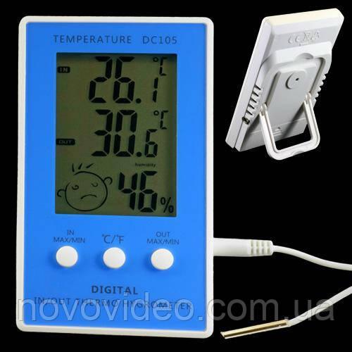 Цифровой измеритель относительной влажности воздуха и температуры DC-105
