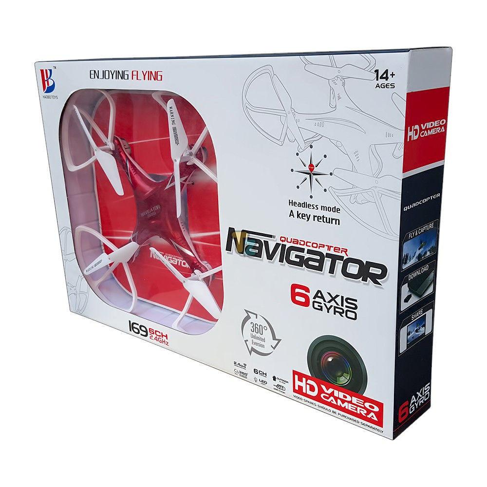 Квадрокоптер 169V Navigator радиоуправляемый с видеокамерой, фото 1