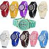 Часы женские наручные силиконовые Geneva, фото 2