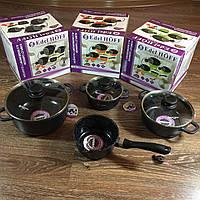Набор посуды Edel Hoff с мраморным покрытием (есть 3 цвета)