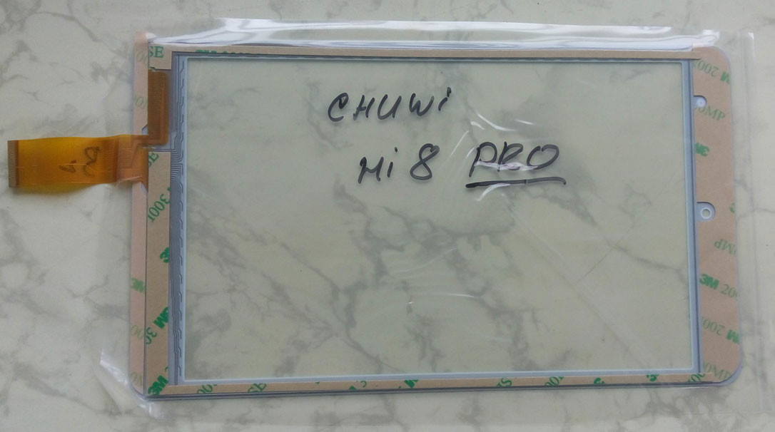 Chuwi Hi8 Pro 209x121mm 51pin HSCTP-726-8-V1 сенсорний екран, тачскрін білий