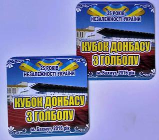 Рекламные магниты на холодильник. Размер 90х90 мм 2