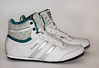 Женские кроссовки Restime 37,38,39 размеры, высокие, демисезонные, белые кроссовки., фото 1
