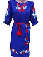 """Женское вышитое платье """"Волшебница"""" PN-0054"""