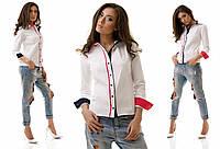 Молодежная рубашка из бенгалина классика