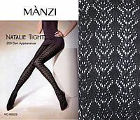 """Фантазийные колготки """"MANZI"""" 200 den узор №66029"""