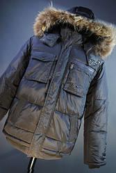 Куртка подросток cерая Donilo
