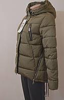 Куртка (молодежка) женская зима, короткая