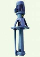 Химический полупогружной насос типа АХП 8/40 К 2м с эл.дв. 7,5кВт/3000об.мин.