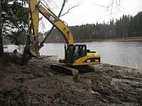 Копание и устройство озер, водоемов
