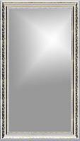 Рамка для зеркала 40х80 см белая с золотом