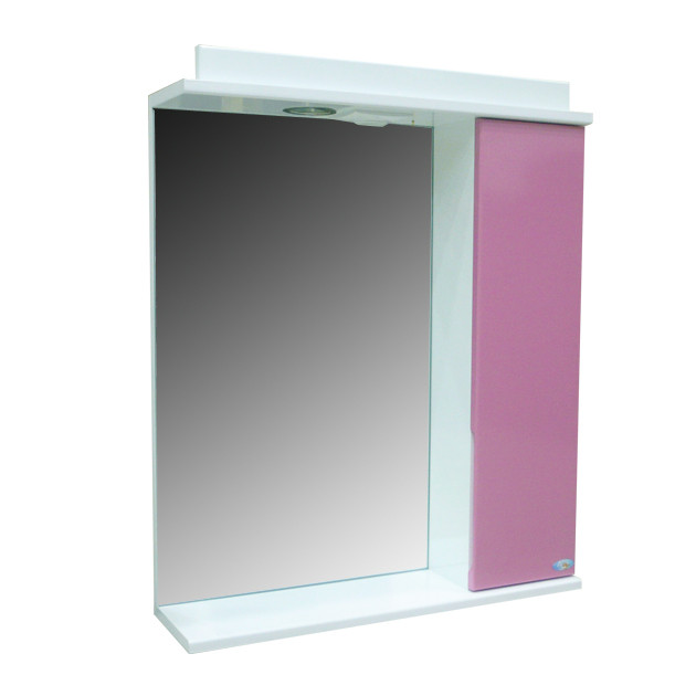 Зеркало Амадин 60 розовый БР