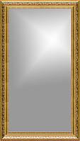 Рамка для зеркала 40х80 см золотая