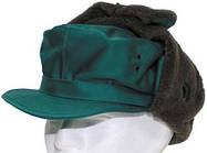 [как новая] Австрийская зимняя шапка р.55 зелёная 610027