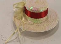 Шляпа 13530 Гламурная (Заколка)