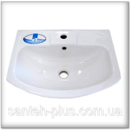Тумба для ванной Т1ЭКО с умывальником Изео-55, фото 2