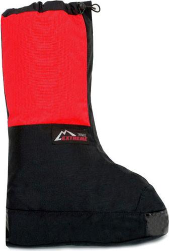 Альпинистские бахилы р.43-46 (XL) Travel Extreme Expedition красный/тёмно-серый