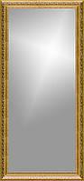 Рамка для зеркала 45х110 см золотая