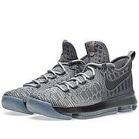 Оригинальные  кроссовки Nike Zoom KD 9 Dark Grey & Wolf Grey